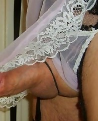Slutty Pantie Boys showing off their hard cocks
